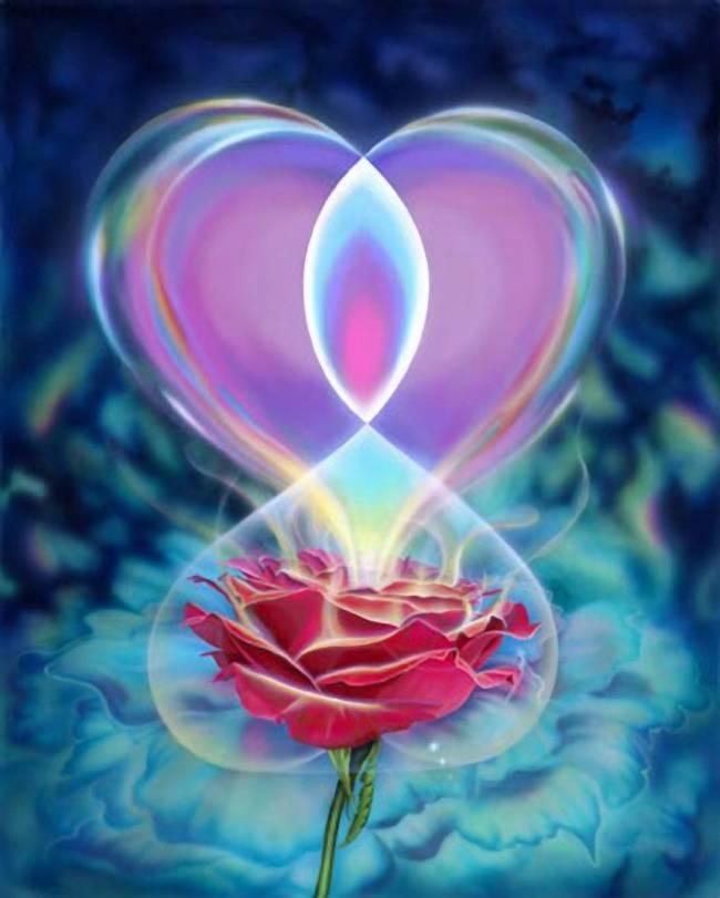 цветок-сердце